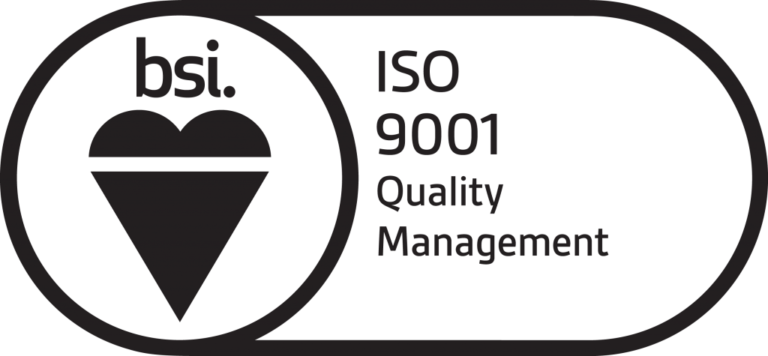bsi Quality management black icon.